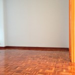 parquet flooring after polishing- apply timber coat (gloss)