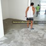 grinding cement floor