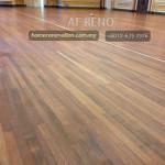 Restoration of wooden floor