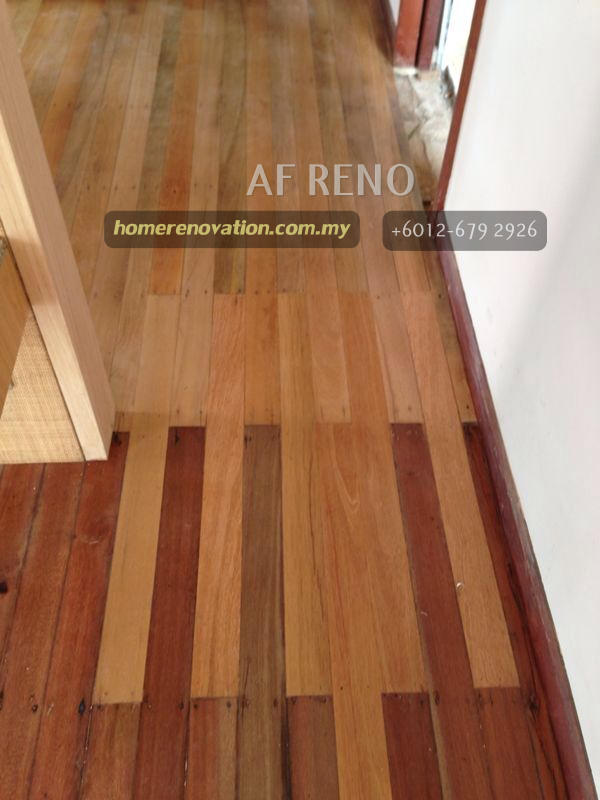 Repair flooring