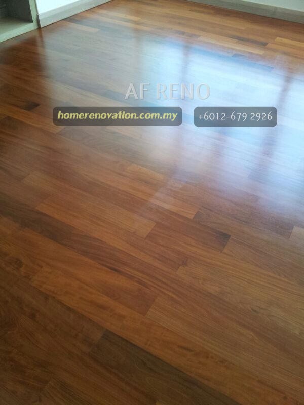 Solid wood matt finish