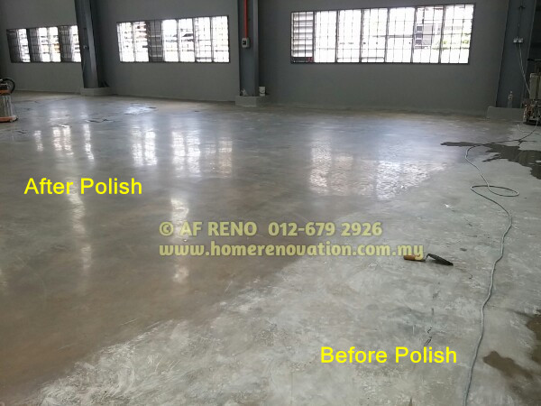 Concrete floor polishing malaysia cement grinding for How to shine cement floor