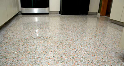 On Site Terrazzo Flooring Building Go For Terrazzo Tiles - How are terrazzo floors made