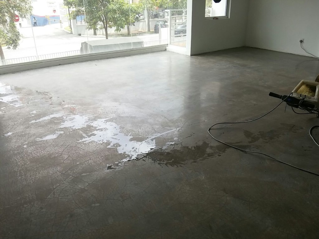 Original Shining Finish Cement Polishing