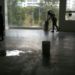 Cement Floor Polishing for Gallery