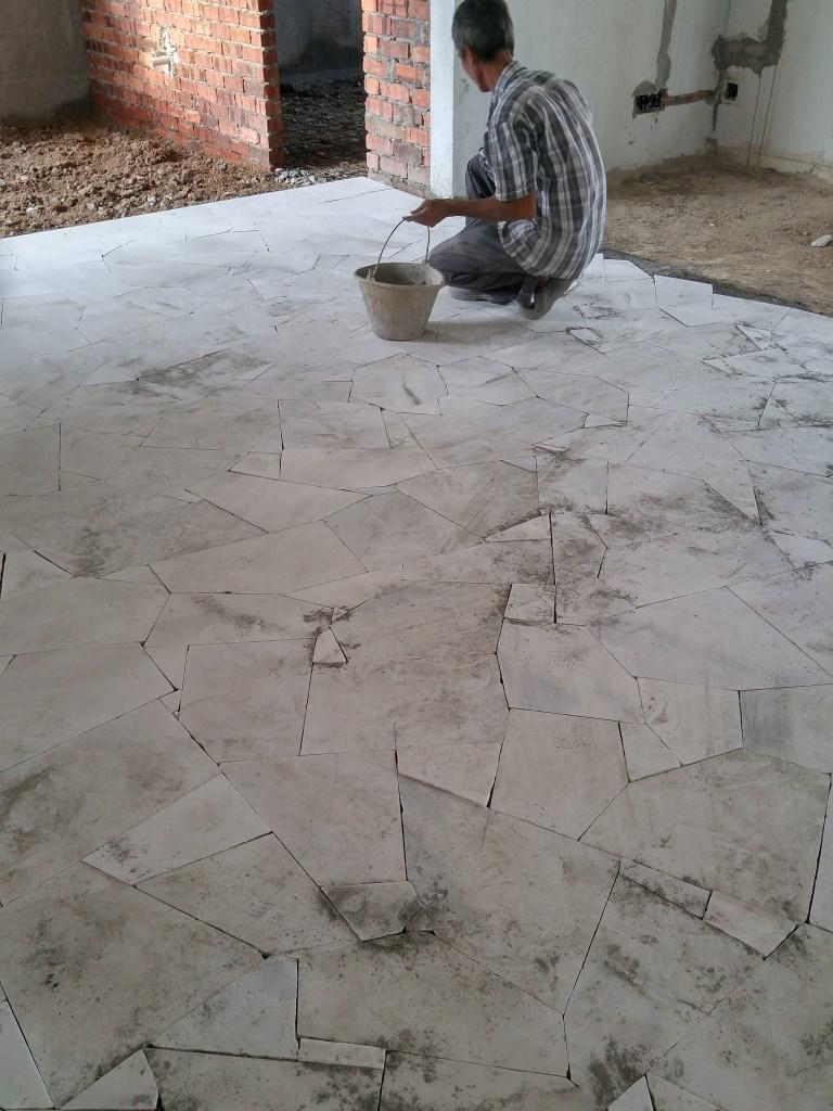 Broken Marble Installation Kl Supply Install Polishing